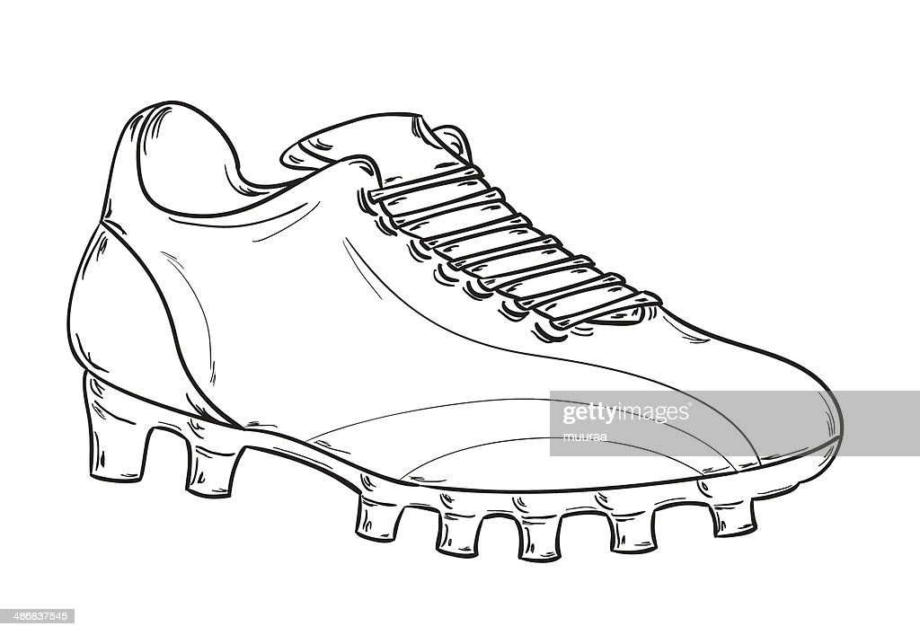 Foot De Coloriage Nike Chaussure Dessin G0vq6er