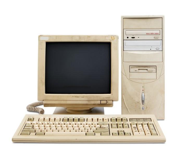 Computador Velho (Foto: Pond5)