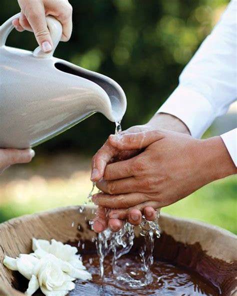 Hand Washing Ceremony   A Wedding to Remember