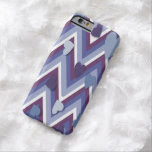 Blue Hearts And Cheverons Barely There iPhone 6 Case