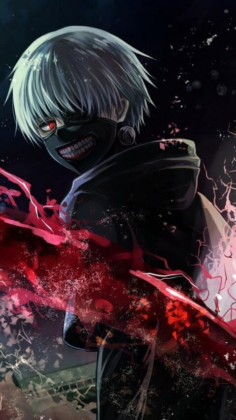 480x854 Tokyo Ghoul Art Android One HD 4k Wallpapers ...
