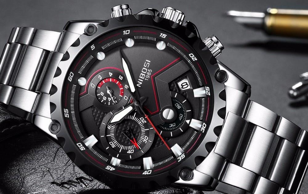 dae7ea150b0 Comprar NIBOSI Homens Relógio Grande Mostrador Do Exército Militar Esportes  Relógios Dos De Moda Ao Ar Livre Pulso Quartzo Relogio Masculino Baratas  Online ...