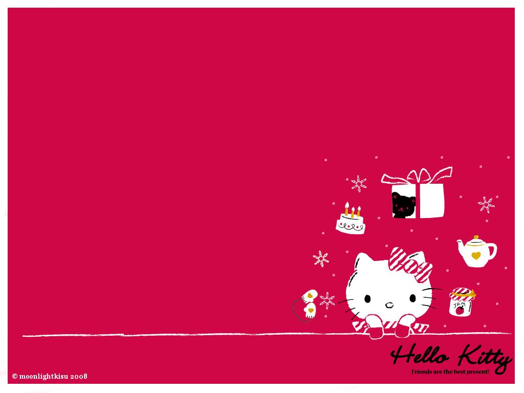 Hello Kitty Winter Wallpaper for Desktop