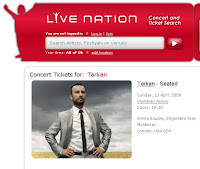 Tarkan at Wembley Arena