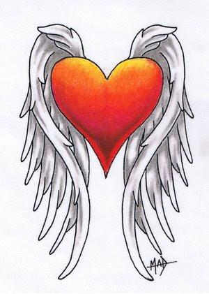 Labels: Best Heart Wings Tattoos