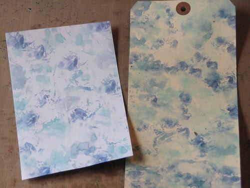 watercolor paper towel technique 012