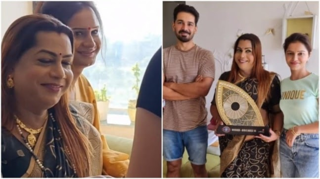 Rubina Dilaik gets a special visit from guruma of transgender community. See post https://ift.tt/37RMjNt