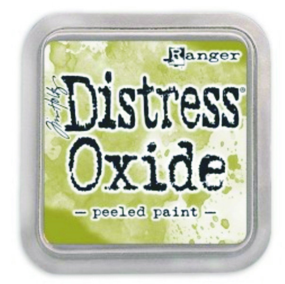 Distress Oxide Ink Peeled Paint