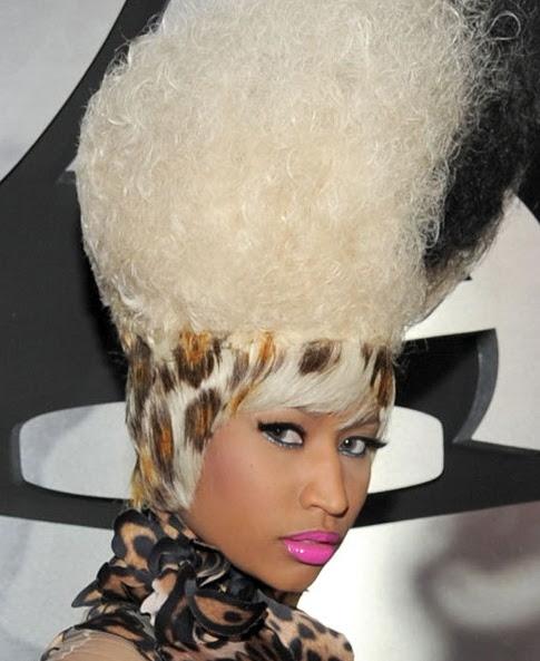nicki minaj hairstyles 2010. 2010 tattoo Nicki Minaj Pink