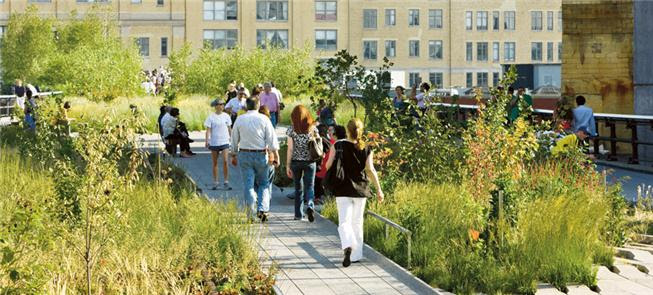 High Line, exemplo de modo de vida saudável em Nov