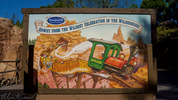 Disneyland Resort, Disneyland60, Disneyland, Frontierland, Big, Thunder, Mountain, Railroad, Photo, Opportunity, Op