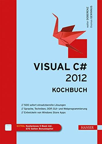 Visual C 2012 Kochbuch Buch Von Thomas Gewinnus Pdf Versdisdeake