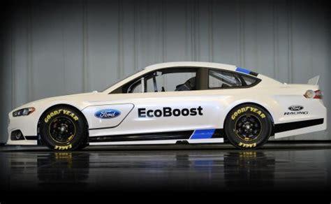 side profile    ford fusion nascar race car