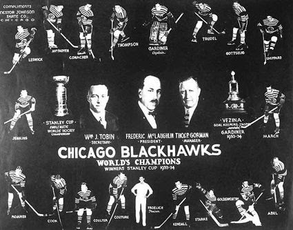 1933-34 Chicago Blackhawks team, 1933-34 Chicago Blackhawks team