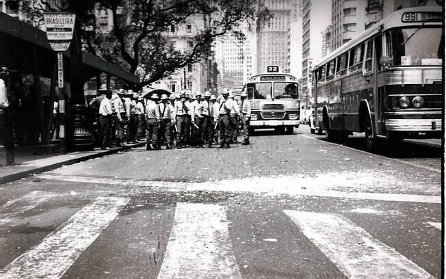 Imagens mostram o trabalho dos serviços de inteligência da ditadura militar, que acompanhava de perto as atividades de grupos considerados subversivos. Foto: Arquivo Brasil Nunca Mais