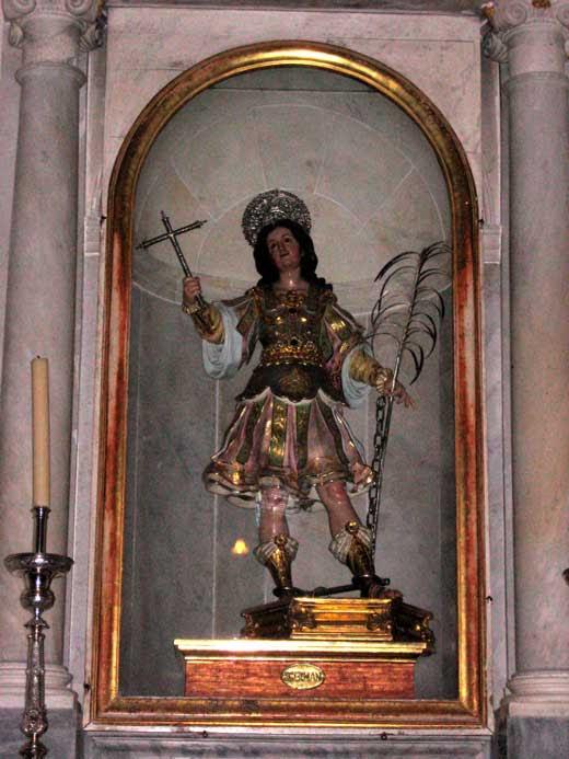 Luisa Roldán, San Germán, 1687, Catedral de Cádiz