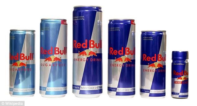 Energy drinks such as Red Bull have boomed in popularity in the past ten years. The regular version contains seven teaspoons of sugar per 250ml