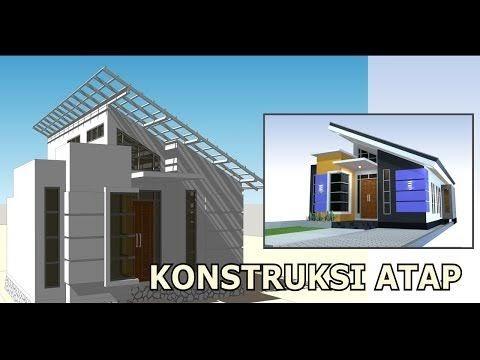 desain rumah minimalis modern atap miring - rumah desain