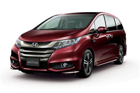 honda odyssey hybrid   sale  japan carscoops