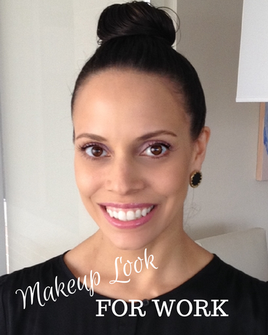Pink Neutral Eye Makeup Perfect for the Office - Beyond ...