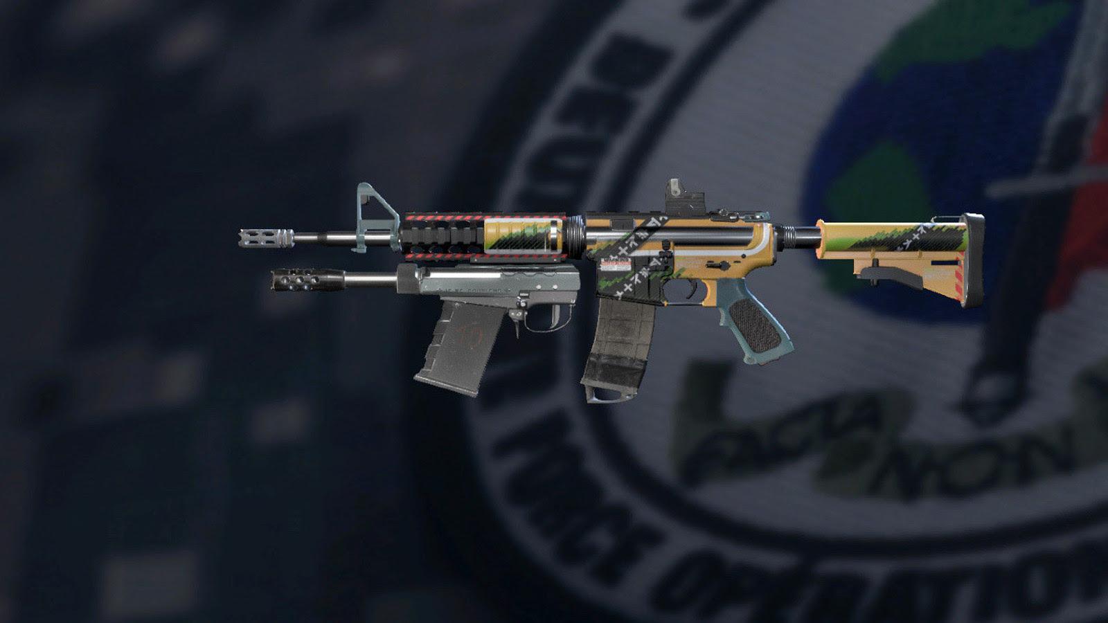 Mech Weapon Skin Rainbow Six Siege Rainbow Six Bootcamp