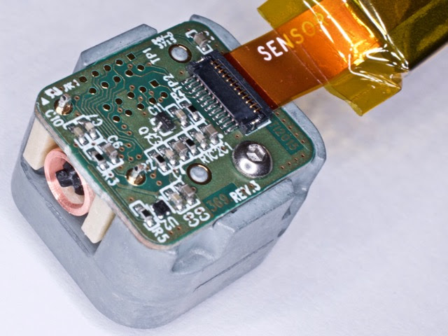 The Rear of the Thermal Camera Module