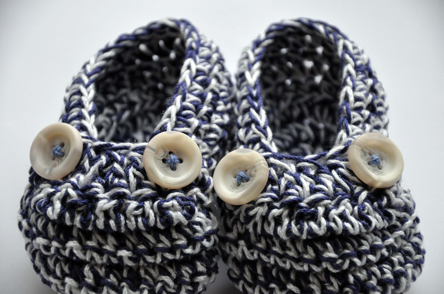 Nautical Mini Moccs