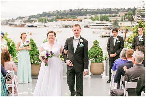 Rachel and David   MV Skansonia WeddingSeattle Wedding