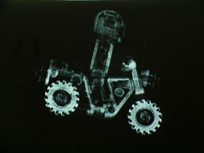 LEGO Motorcycle Xray