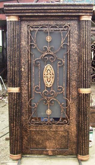 Custom Built Wrought Iron Door Photo Gallery Page 1