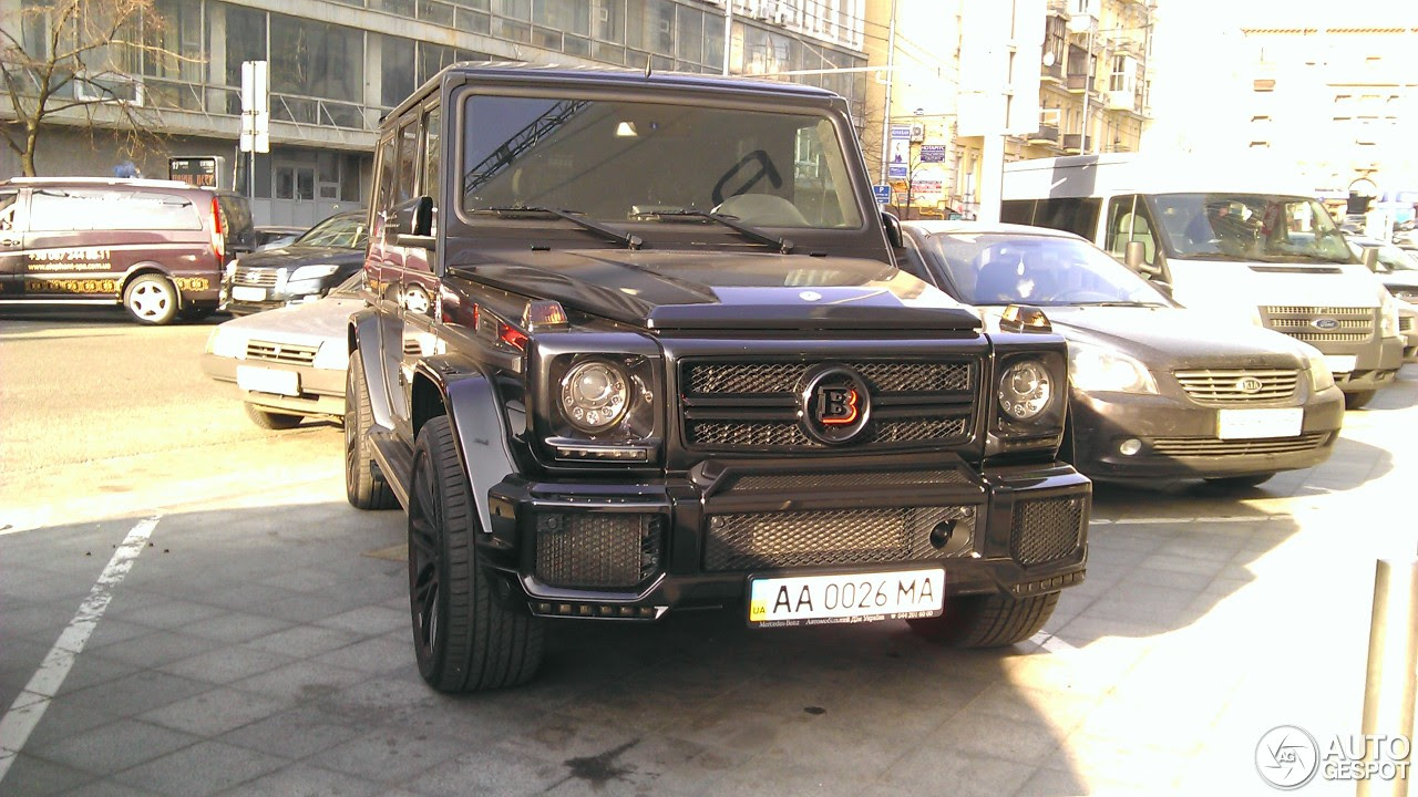 MercedesBenz Brabus G 63 AMG B63620  13 April 2016  Autogespot