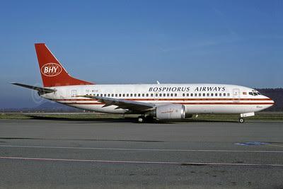 Bosphorus Airways-BHY Boeing 737-3H9 TC-MIO (msn 23714) ZRH (Rolf Wallner). Image: 920883.