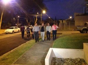Alcaldes municipales se reúnen con Johnny Araya. (CRH)