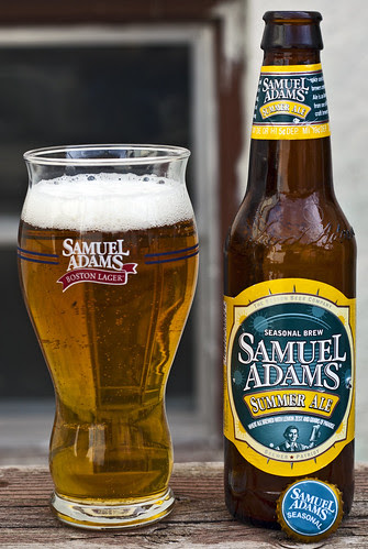 Review: Samuel Adams Summer Ale (2009) by Cody La Bière