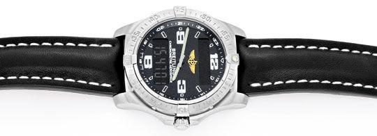 Foto 1, Breitling Aerospace Chronograph Titan Ungetragen Topuhr, U1483