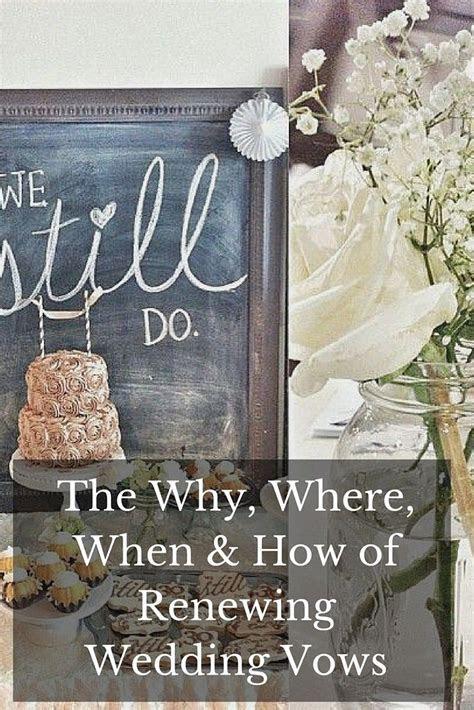 Renewing Wedding Vows   Anniversaries