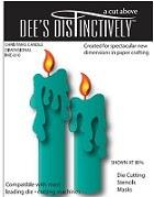 Elizabeth Craft Designs - Dee's Distinctively - Die - Candle Set