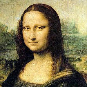 Mona Lisa face 800x800px