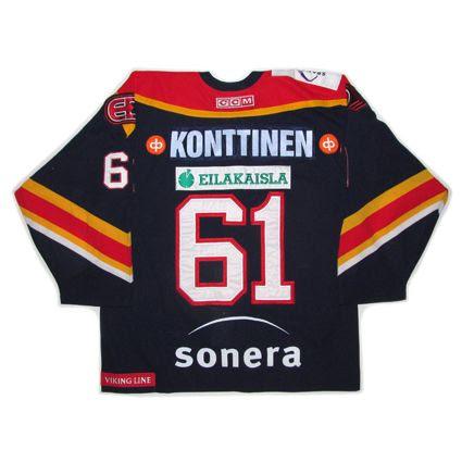 Finland Jokerit Helsinki 2005-06 jersey photo FinlandJokeritHelsinki2005-06B.jpg