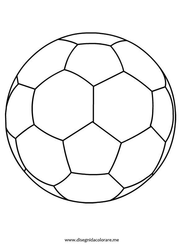 Disegno Pallone Di Calcio Da Colorare Disegni Da Colorare