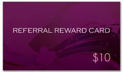 CPS-1077 - salon coupon card