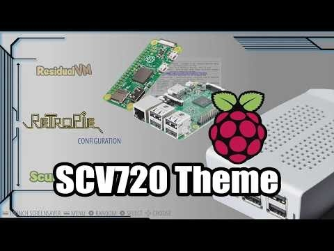Raspberry pi 2 Gaming: Awesome RetroPie Themes SCV720 And Pink