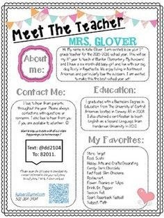 1000+ ideas about Teacher Welcome Letters on Pinterest ...