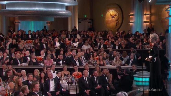 El discurso de Meryl Streep fue uno de los grandes momentos de la noche