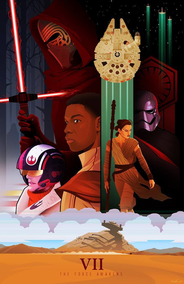Star Wars: The Force Awakens by Chris Ables