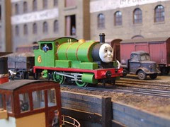 Percy shunts the dock