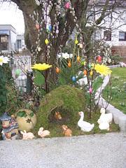 Osterdeko Garten 2