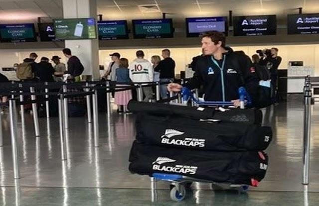 WTC Final और टेस्ट सीरीज के लिए लंदन पहुंची न्यूजीलैंड की टीम