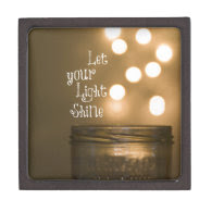 Inspirational Bible Verse Christian Quote Premium Jewelry Boxes