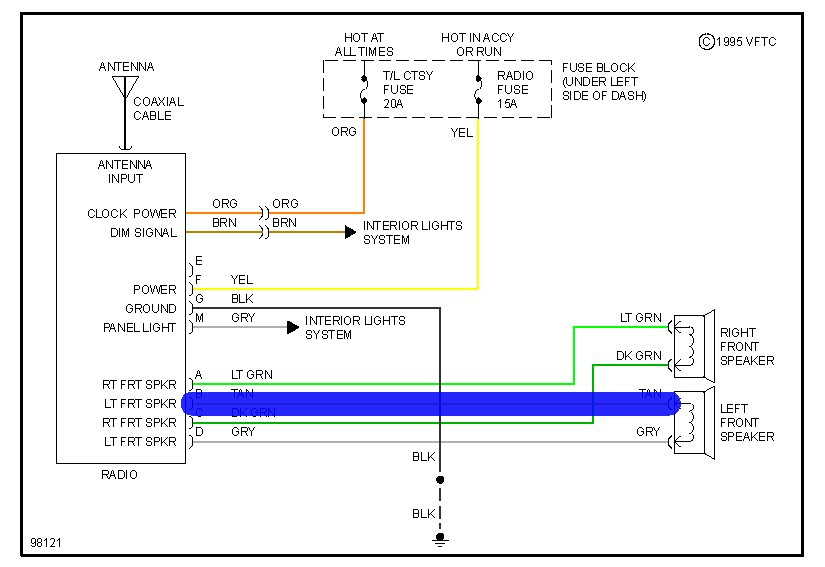 Wiring Diagram  35 Chevy S10 Stereo Wiring Diagram
